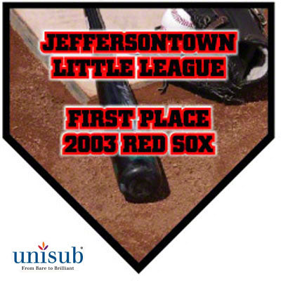 Plaque- Large Home Plate