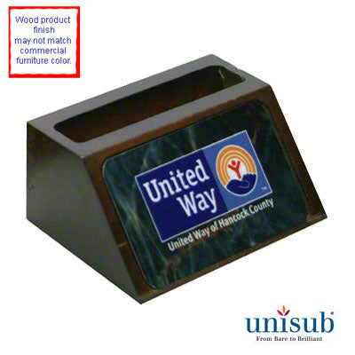 Business Card Holder- Wooden Holder