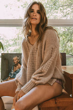 Knit V-Neck Jumper