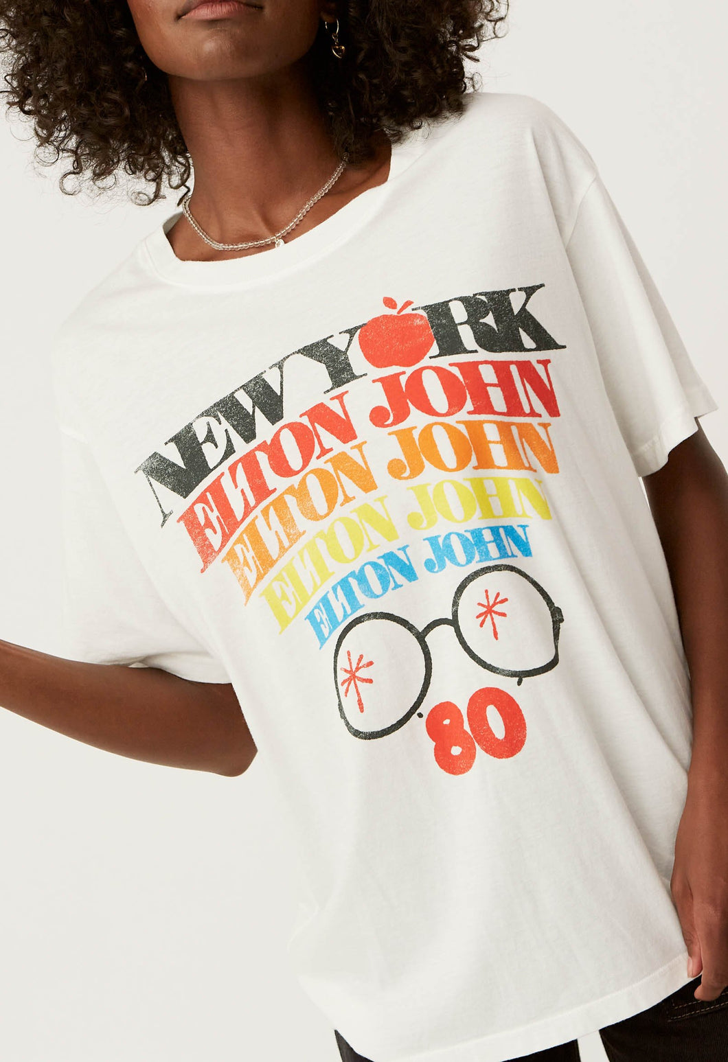 Elton John New York Boyfriend Tee