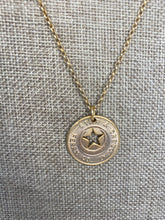 Ferry Token Necklace