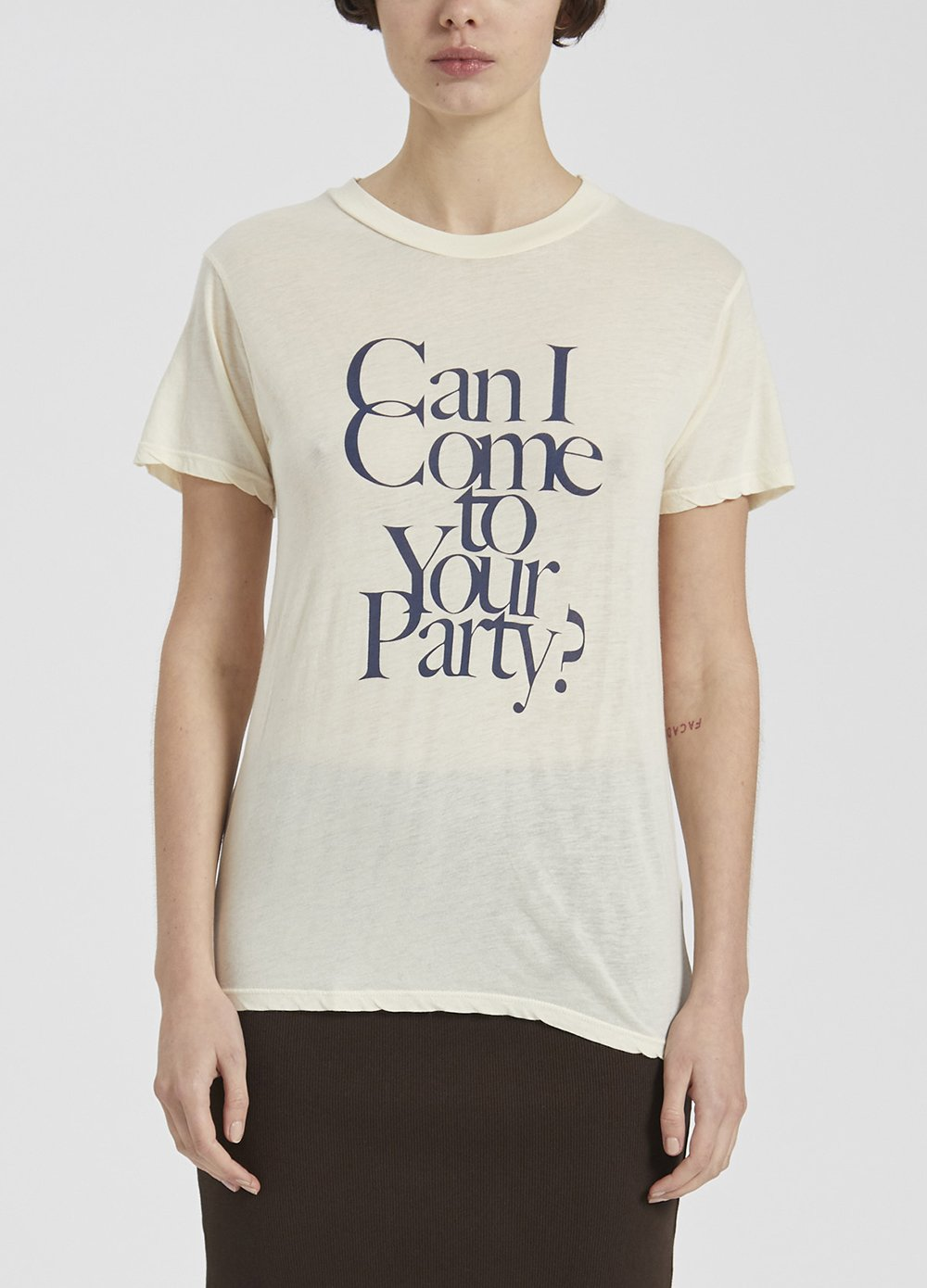 Can I Come To Your Party Classic Fit Tee