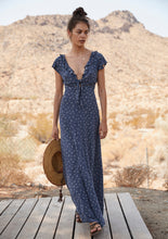 Jasmine Petal Cutaway Maxi Dress