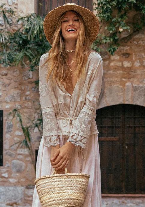 Maggie Embroidered Blouse