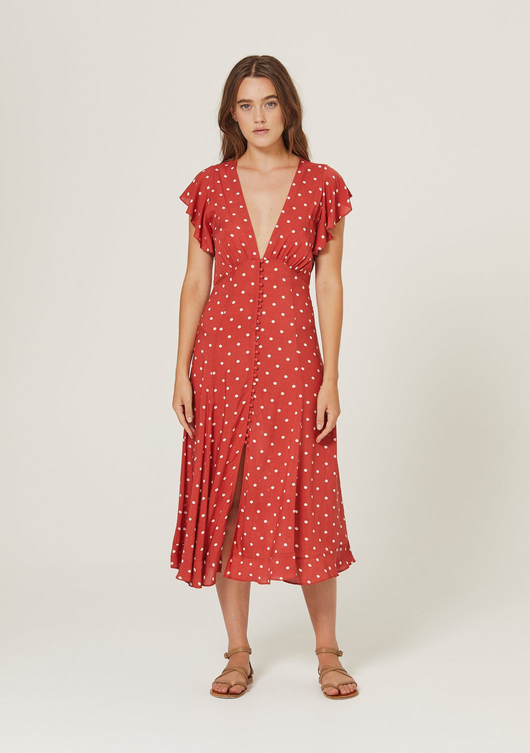 Polly Sunday Midi Dress
