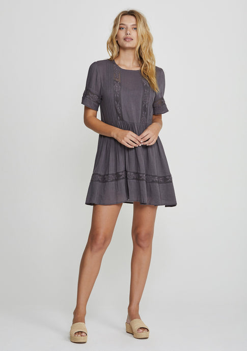 Margot Wren Mini Dress