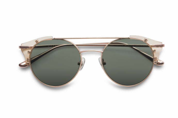 Rialto Sunglasses Clear Beach Glass