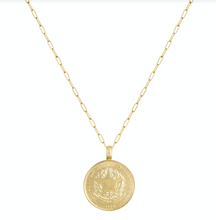 Star Gazer Coin Necklace
