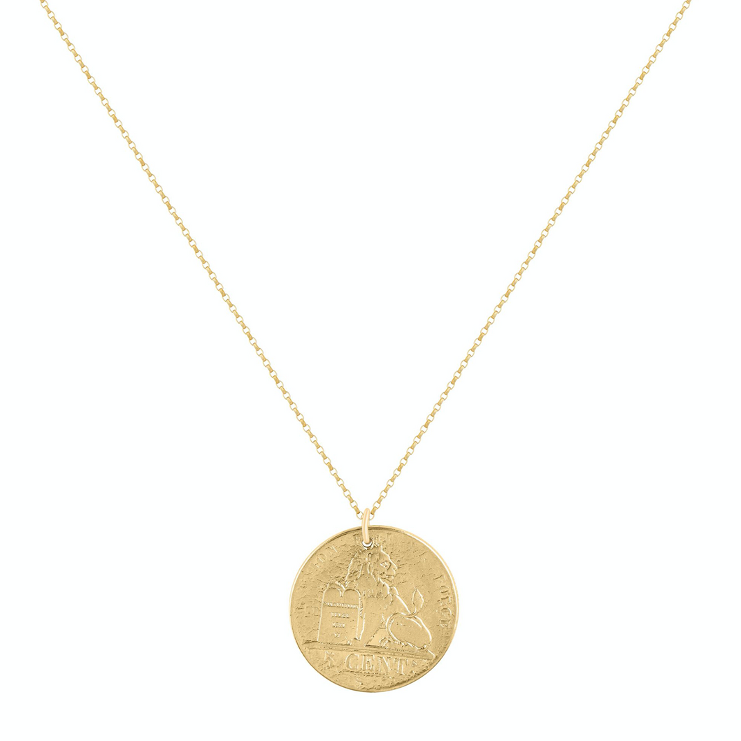 Majesty Coin Necklace