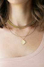 Dahlia Coin Necklace
