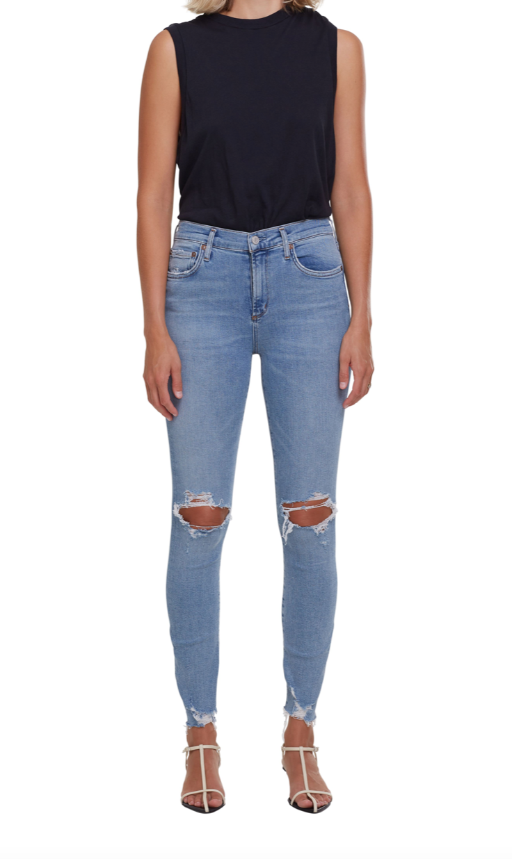Sophie Ankle Jean in Salter