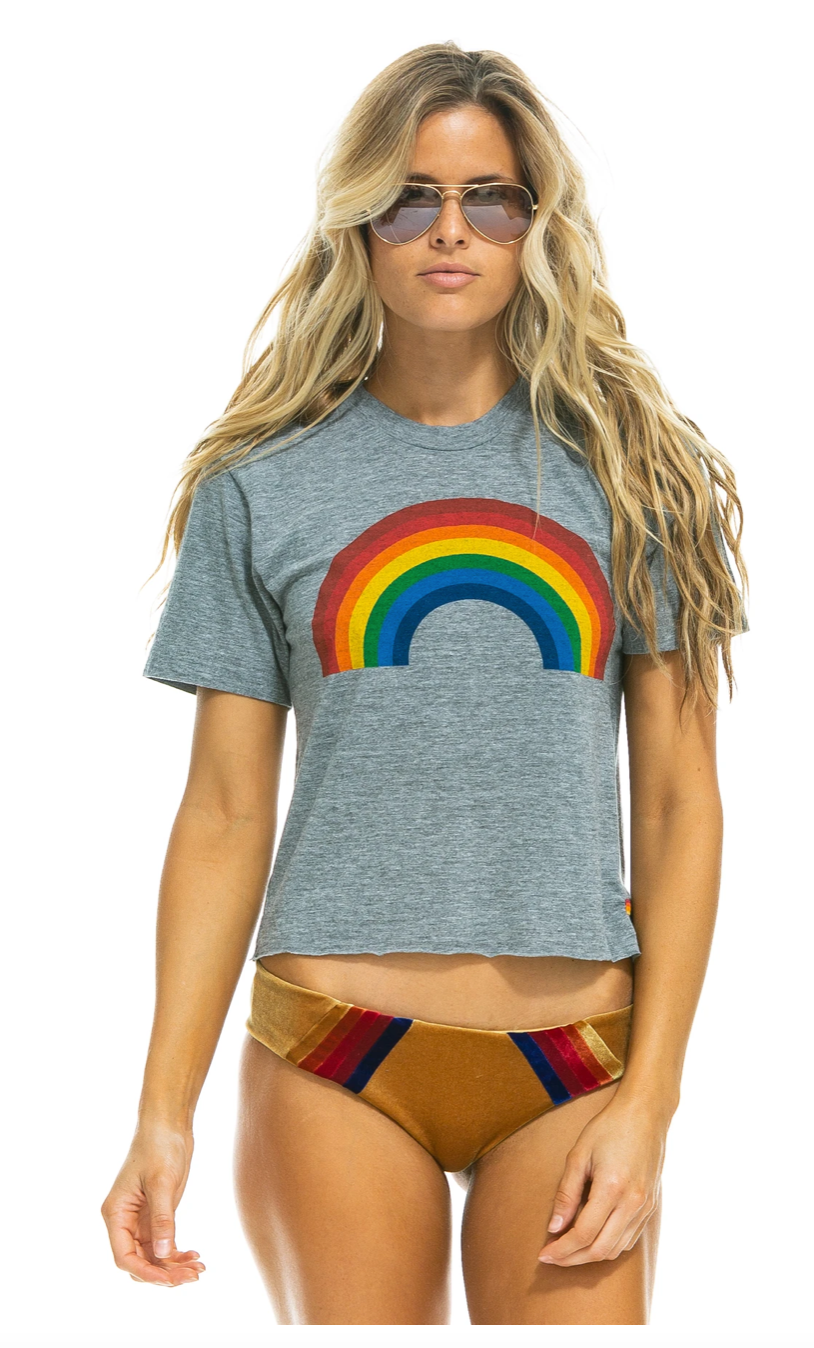 Big Rainbow Boyfriend Tee