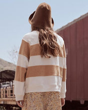 The Sherpa Stripe Slouch Sweatshirt