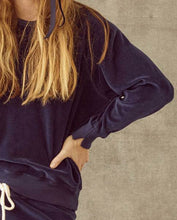 The Velour College Sweatshirt
