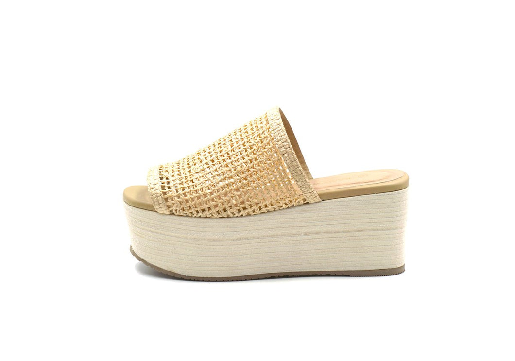 Barbados Fishnet Wedge