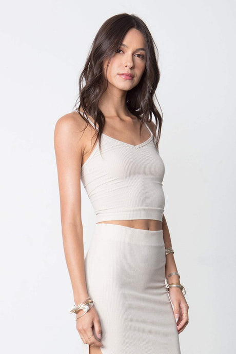 So Simple Crop Tank