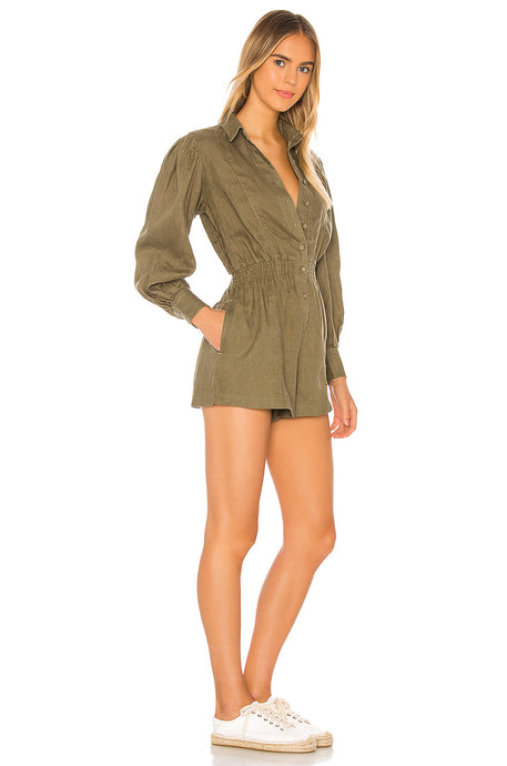 Button Up Romper