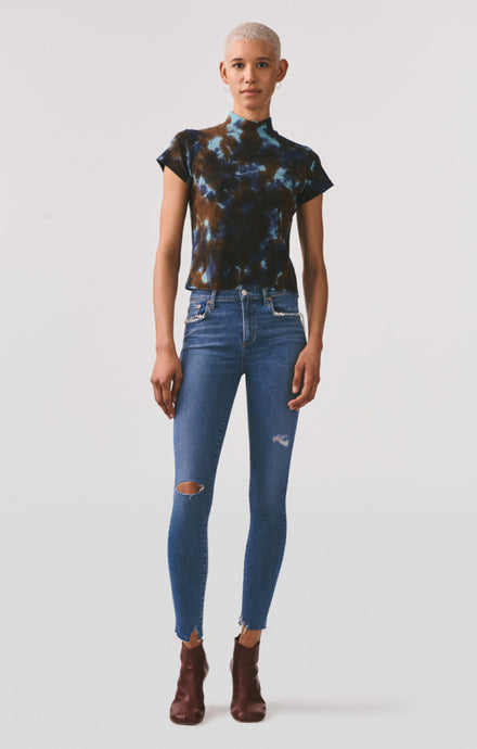 Sophie Mid Rise Skinny Ankle Jean