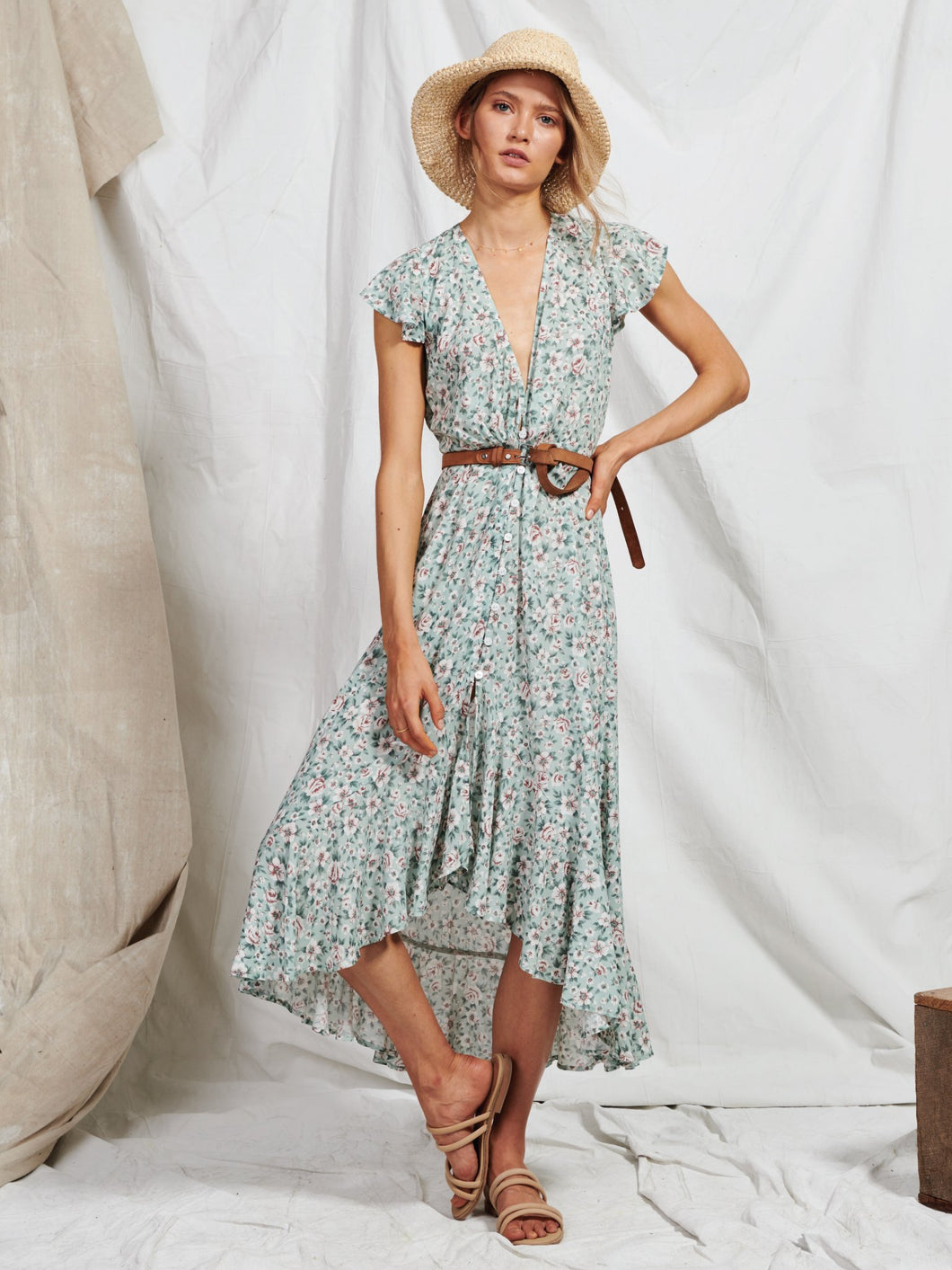 Harlow Floral Maxi Dress