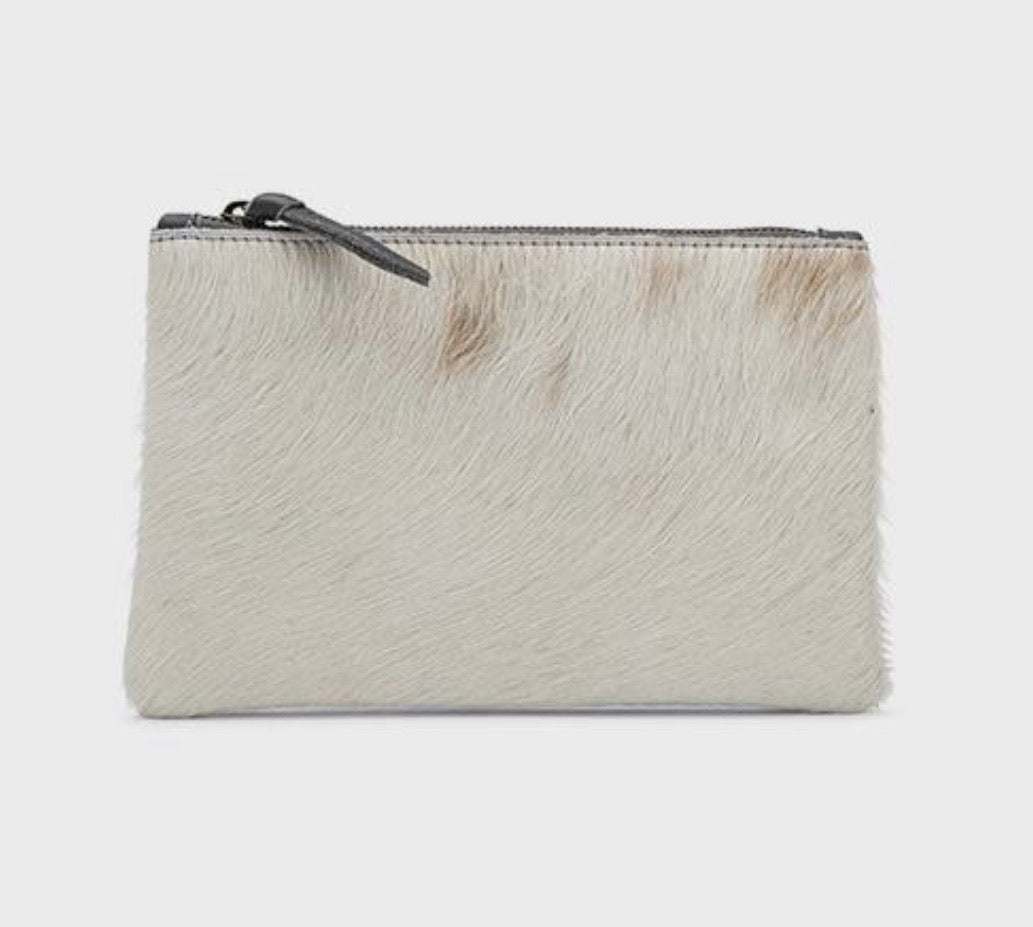Rebel Mini Clutch WHITE HOC