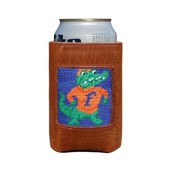 Florida Gators Needlepoint Can Cooler
