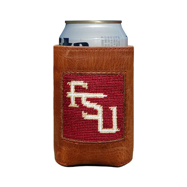 Florida State Needlepoint Can Cooler