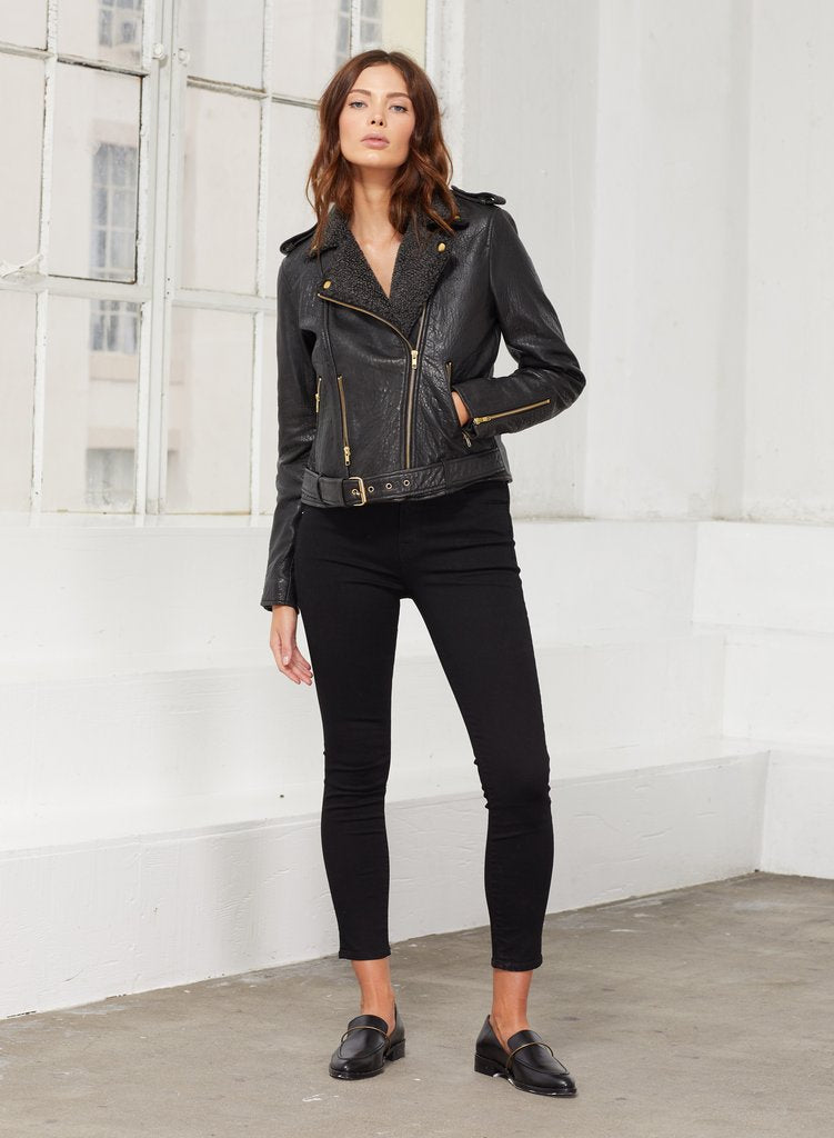 Noor Leather Jacket