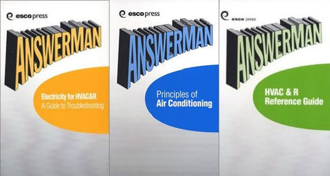 Answer Man Pocket Reference (3) Vol. HVAC Bundle - Paperback