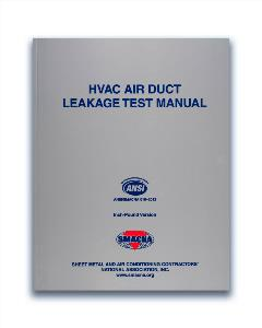 HVAC Air Duct Leakage Test Manual