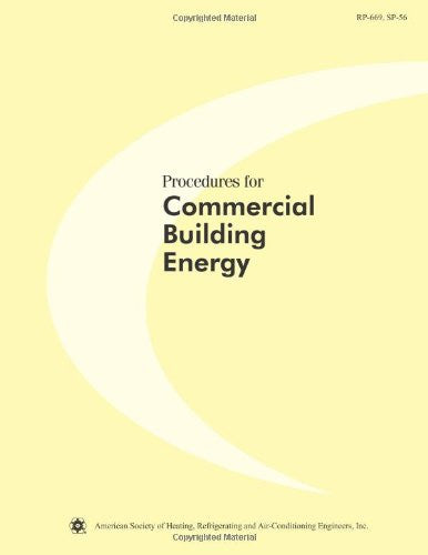Procedures for Commercial Building Energy Audits