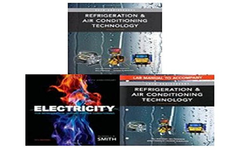 Refrigeration and Air Conditioning Technology Book Bundle