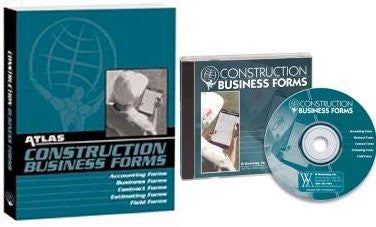 Atlas Construction Business Forms including CD-ROM Bundle