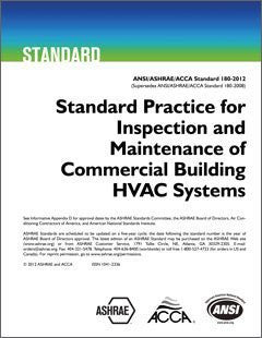 Standard Practice for Inspection and Maintenance of Commercial Building HVAC Systems