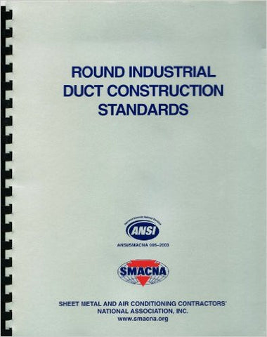 Round Industrial Duct Construction Standards