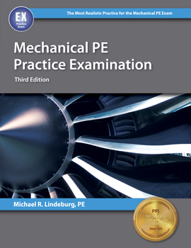 Mechanical PE Practice Examination (MEPE3), 3rd Edition