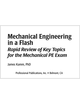 Mechanical Engineering in a Flash (MEFL)