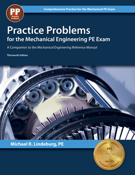 Practice Problems for the Mechanical Engineering PE Exam (MEPP13), 13th Edition