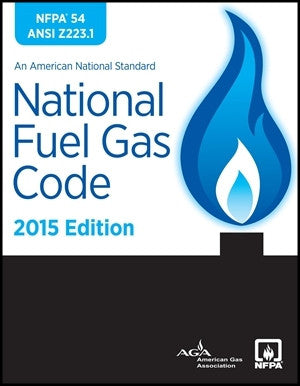 NFPA 54 National Fuel Gas Code, 2015