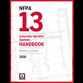NFPA 13: Automatic Sprinkler Systems Handbook 2016
