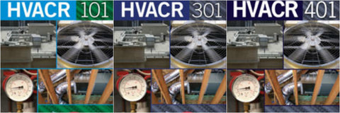 Cengage HVACR series bundle