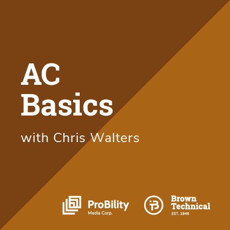 HVAC 101- AC BASICS ONLINE TRAINING COURSE
