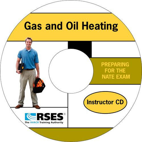 NATE Gas and Oil Heating PowerPoint Instructor CD