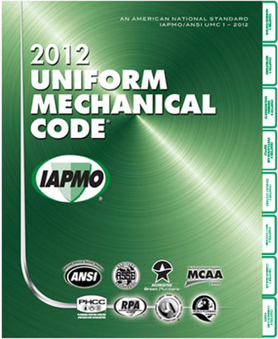 2012 Uniform Mechanical Soft Cover w/Tabs