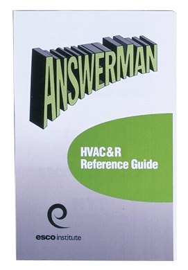 AnswerMan HVAC&R Reference Guide
