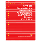 NFPA 90A: Standard for the Installation of Air-Conditioning and Ventilating Systems, 2012 Edition