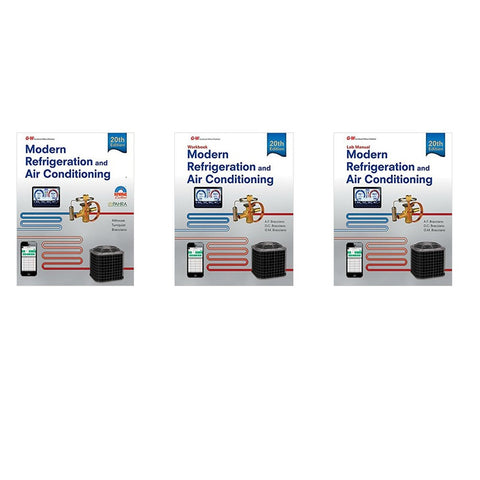 Modern Refrigeration and Air Conditioning, 20th Edition Bundle