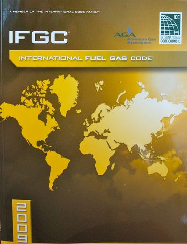 International Fuel Gas Code 2009 Paperback