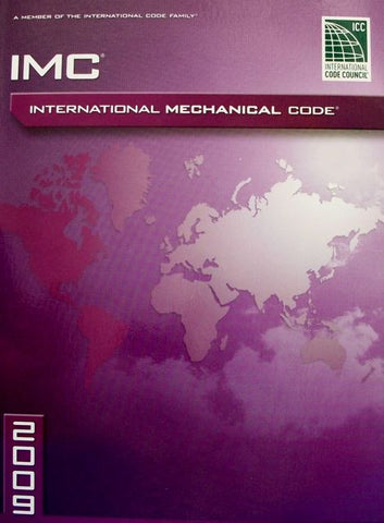 International Mechanical Code 2009 Paperback