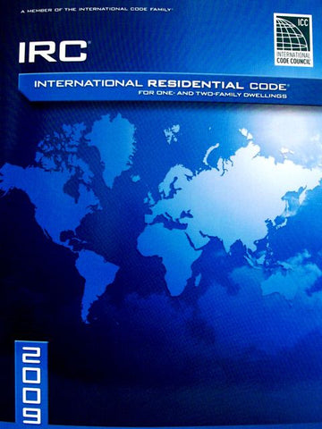 2009 International Residential Code For One-and-Two Family Dwellings