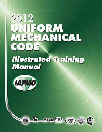 2012 Uniform Mechanical Illustrated Training Manual